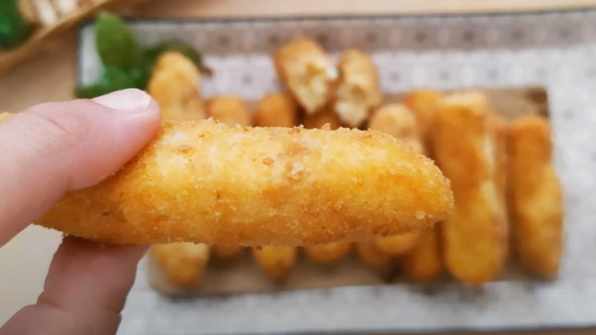 Crocchette di patata alla menta