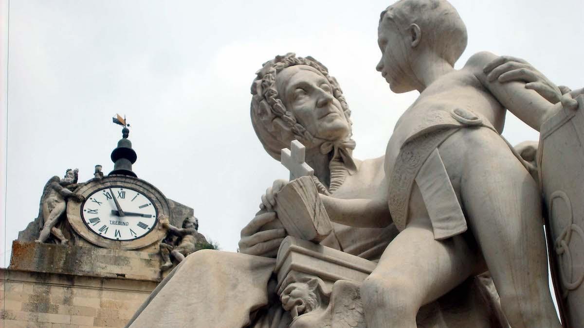 Piazza Aldo Moro a Maglie